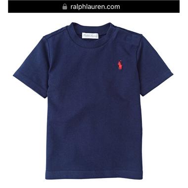 Áo thun Polo size Nhí 018 - Xanh đen