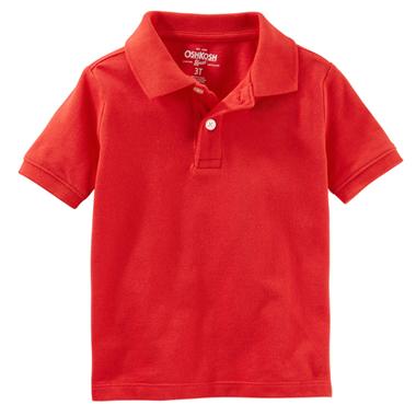 áo Oshkosh Polo - đỏ