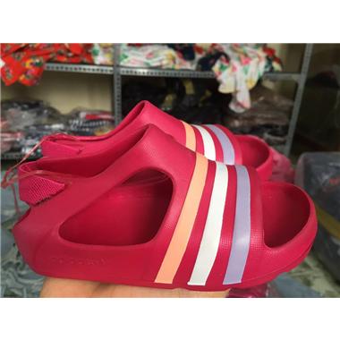 SANDAL ADIDAS - Hồng sọc 3 tông màu