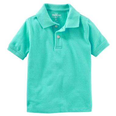 áo Oshkosh Polo - xanh ngọc
