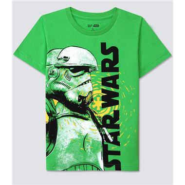 Áo thun Gap - Star wars xanh côm