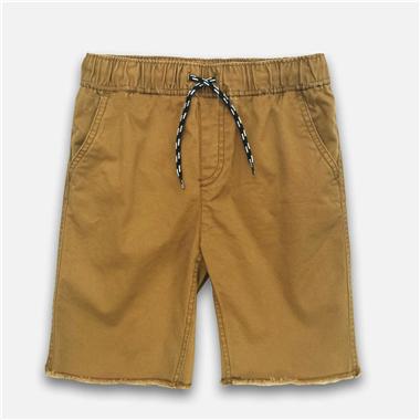 Quần short kaki-Vàng Da Bò