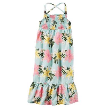 Váy Carter maxim - Hoa ly vàng cam