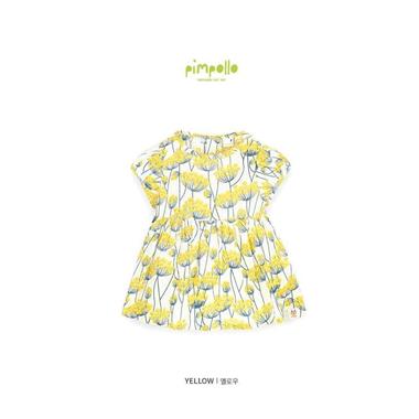 Áo váy Pimpollo - Hoa vàng