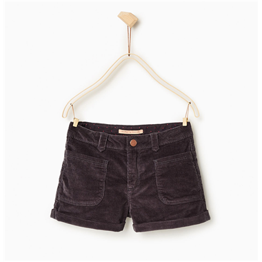 Short Zara - Đen