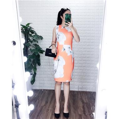 Váy suông CK NL- Cam