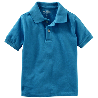 áo Oshkosh Polo - xanh dương