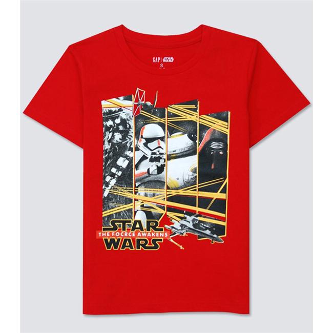 Áo thun  Gap - Star wars đỏ 2