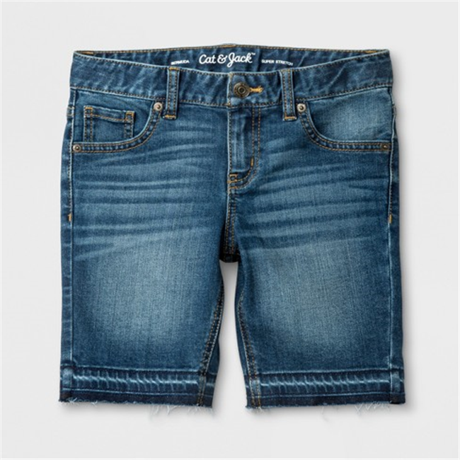 Quần short jean bé gái - 02