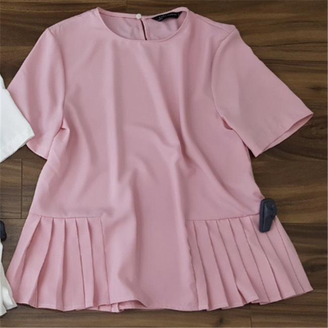 Áo zara dang peblum - hồng