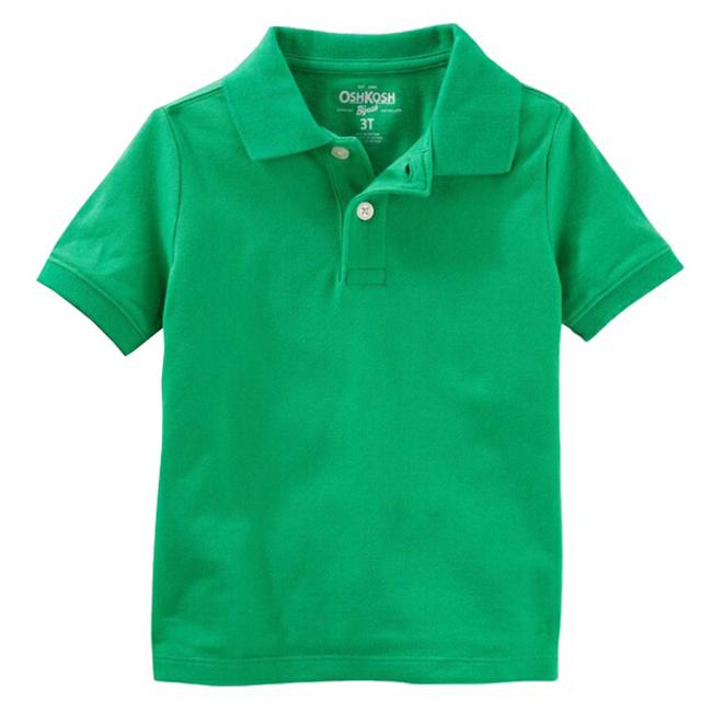 áo Oshkosh Polo - xanh lá