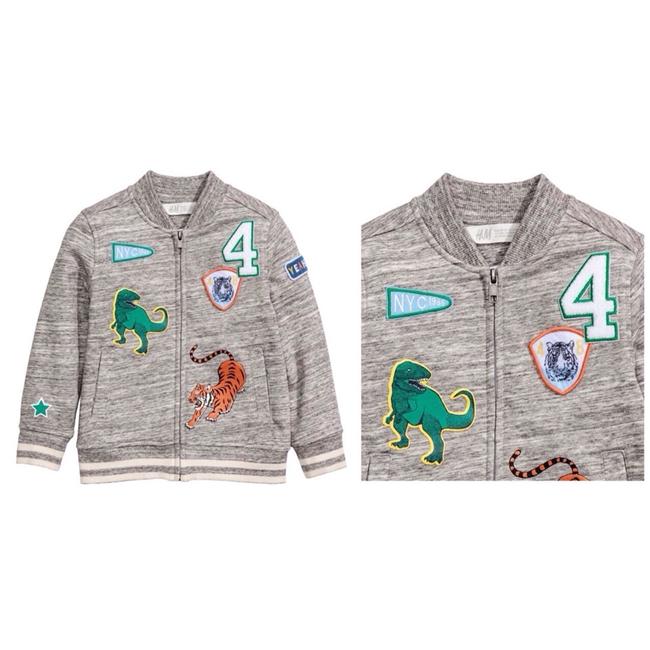 áo khoác HM hình khủng long