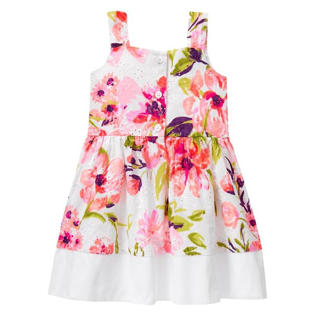 Váy gymboree hoa