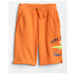 Thời trang trẻ em : Quần short da cá Gap - Vàng cam