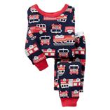 Thời trang trẻ em : Bộ Thun baby gap - Xe cứu hỏa