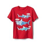 Thời trang trẻ em : Áo thun Gap018 - 21 cá mập đỏ