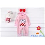 Thời trang trẻ em : HQ 521 - Body suit Minie