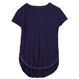 Thời trang trẻ em : Áo gymborre bản vạt cao thấp - Xanh Đen