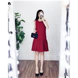 Váy đuôi ca zara -  đỏ