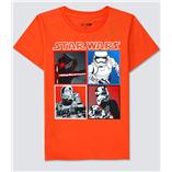 Thời trang trẻ em : Áo thun Gap  - Star wars cam