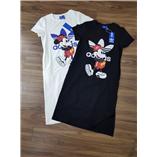 Thời trang trẻ em : Váy maxi cotton hình mickey- Den