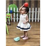 Thời trang trẻ em : Váy Tommy - Trăng