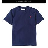 Thời trang trẻ em : Áo thun Polo size Nhí 018 - Xanh đen