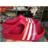 Thời trang trẻ em : SANDAL ADIDAS - Hồng sọc 3 tông màu
