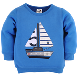 Thời trang trẻ em : Áo nỉ First02 - Chiếc thuyền