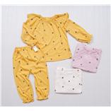 Thời trang trẻ em : Bộ Ngủ Moimoln - Vàng