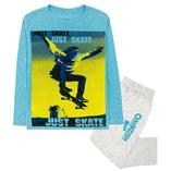 Thời trang trẻ em : Bộ dài Oshkosh - trượt ván