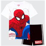 Thời trang trẻ em : Bộ Marvel 19 - Màu Trắng