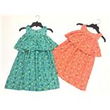 Thời trang trẻ em : Váy Maxi Plus - Cam