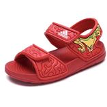 Thời trang trẻ em : Sandan Adidas - Đỏ cam khủng long