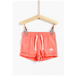 Thời trang trẻ em : Quần sort Tex - Hồng cam