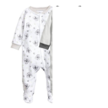 Thời trang trẻ em : Body Suit dài - Trắng Sóc và Tuyết 8
