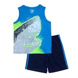 Thời trang trẻ em : Bộ Place sát nách - Cá Mập