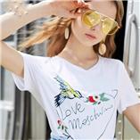 Thời trang trẻ em : Áo Oriana thêu - trắng