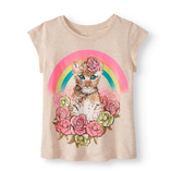 Thời trang trẻ em : áo thun 365 - Mèo và câù vòng