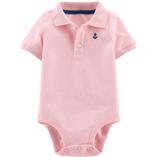 Thời trang trẻ em : Body Suit tam giác có cổ - Màu hồng mỏ neo