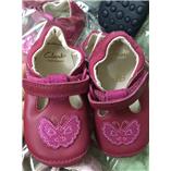 Thời trang trẻ em : Giày Clarks - đỏ