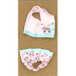 Thời trang trẻ em : Set áo crop top + quần chip trong túi OEKO - TEX - lười