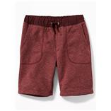Thời trang trẻ em : Quần Short Nỉ Oldnavy - đỏ nâu