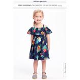 Váy Old Navy - Hoa xanh
