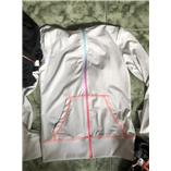 Áo khoác bé gái H&M - trắng