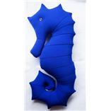 Gối cá ngựa 04 - Xanh Coban 65cm