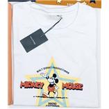 Thời trang trẻ em : Áo thun mickey hiệu mind bridge - trắng sao