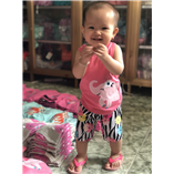 Thời trang trẻ em : Bộ borip 018 - voi con