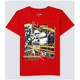Thời trang trẻ em : Áo thun  Gap - Star wars đỏ 2