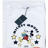 Thời trang trẻ em : Áo thun mickey hiệu mind bridge - Trắng